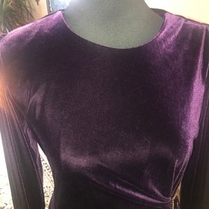 Jessica Howard velvety maxi dress